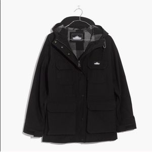 Madewell x Penfield Kasson jacket in true black